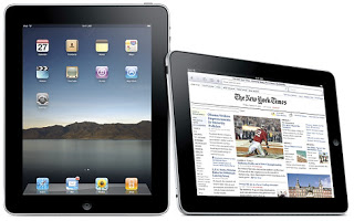 Photo of 2 iPads in different orientations