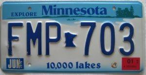 FileMaker License Plate
