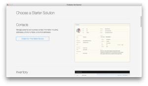Starting Out With FileMaker
