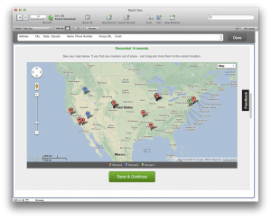 fmBatchGeo – Multiple Location Google Maps from FileMaker