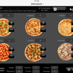 FileMaker Go Pizza Counter for iPad