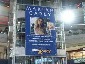 Visual Impact Mariah Carey Mall of America