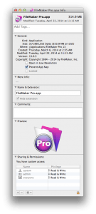 FileMaker and Issues with Mac OS 10.9 Mavericks and Yosemite