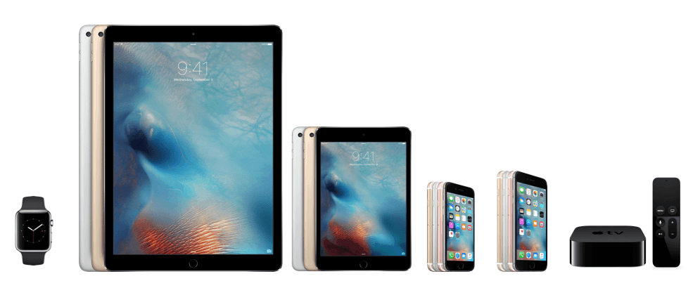Apple New Products 9-9-15