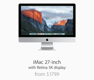 Get a Powerful iMac computer <del>for only $350</del> for FREE!