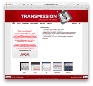 Ransomware on the Mac