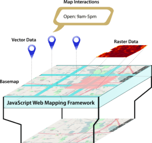 A Typical Web Map