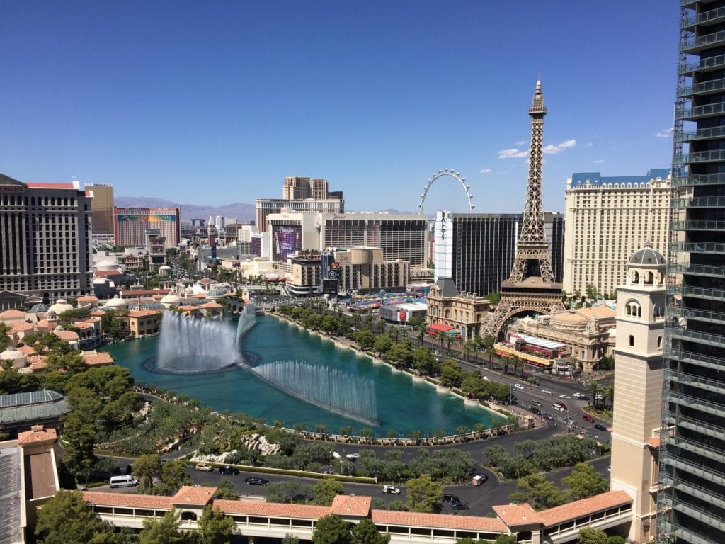 DevCon 2016 Las Vegas Balcony View