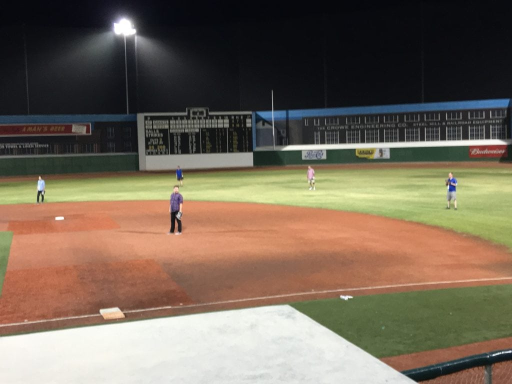 DevCon 2016 Party Baseball Field