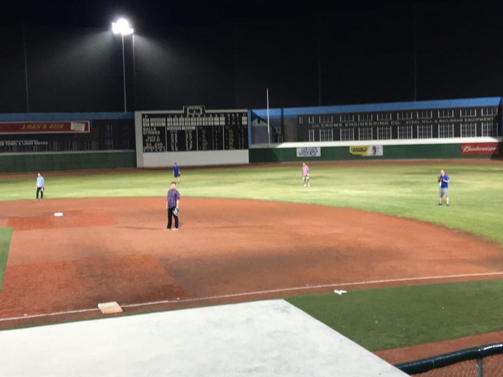 DevCon 2016 Party Baseball Field