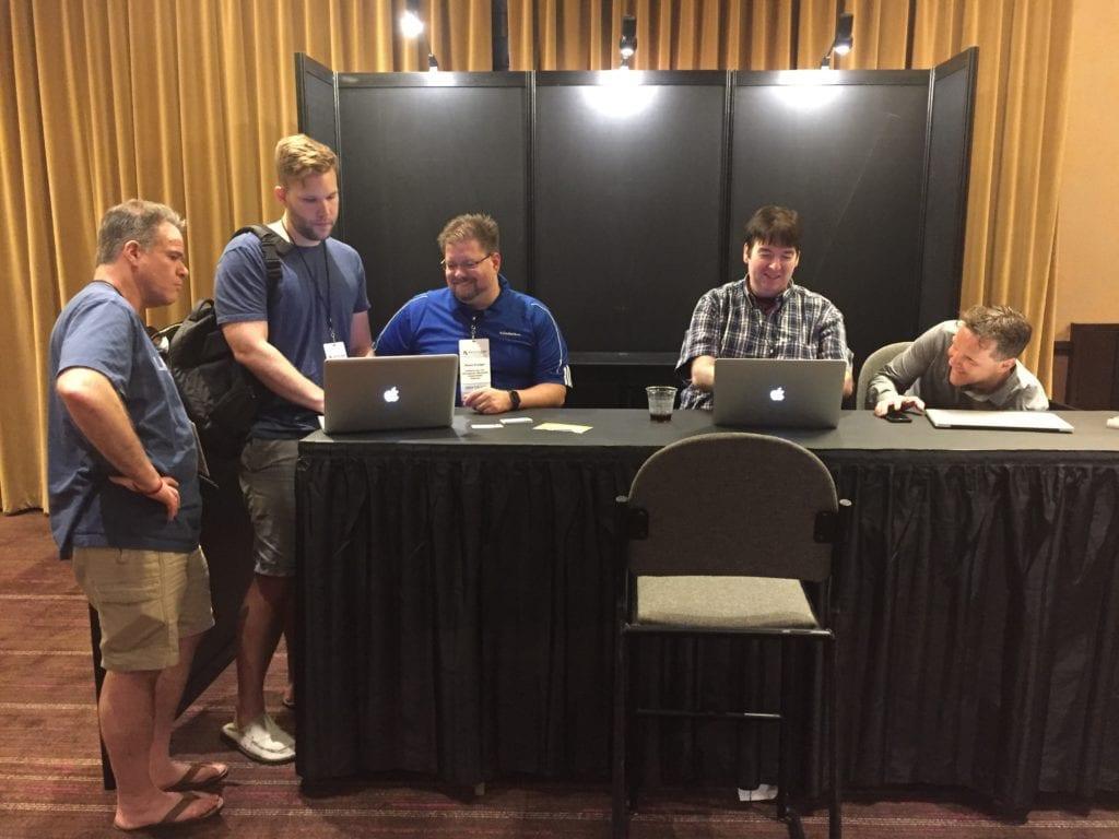 DevCon 2016 Shawn FileMaker Visionary Bar