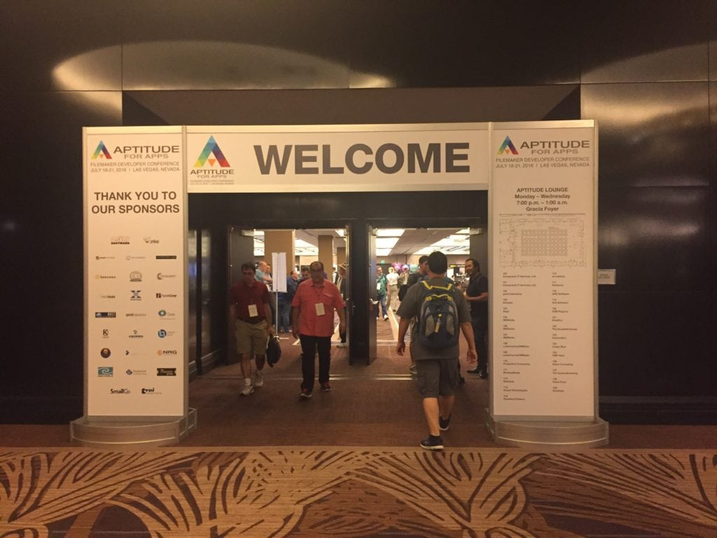 DevCon 2016 Welcome Sign