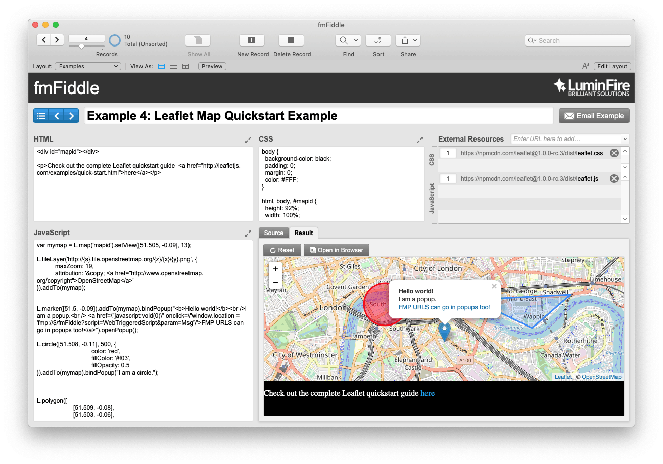 GIS and FileMaker – Part 1: The Basics - LuminFire