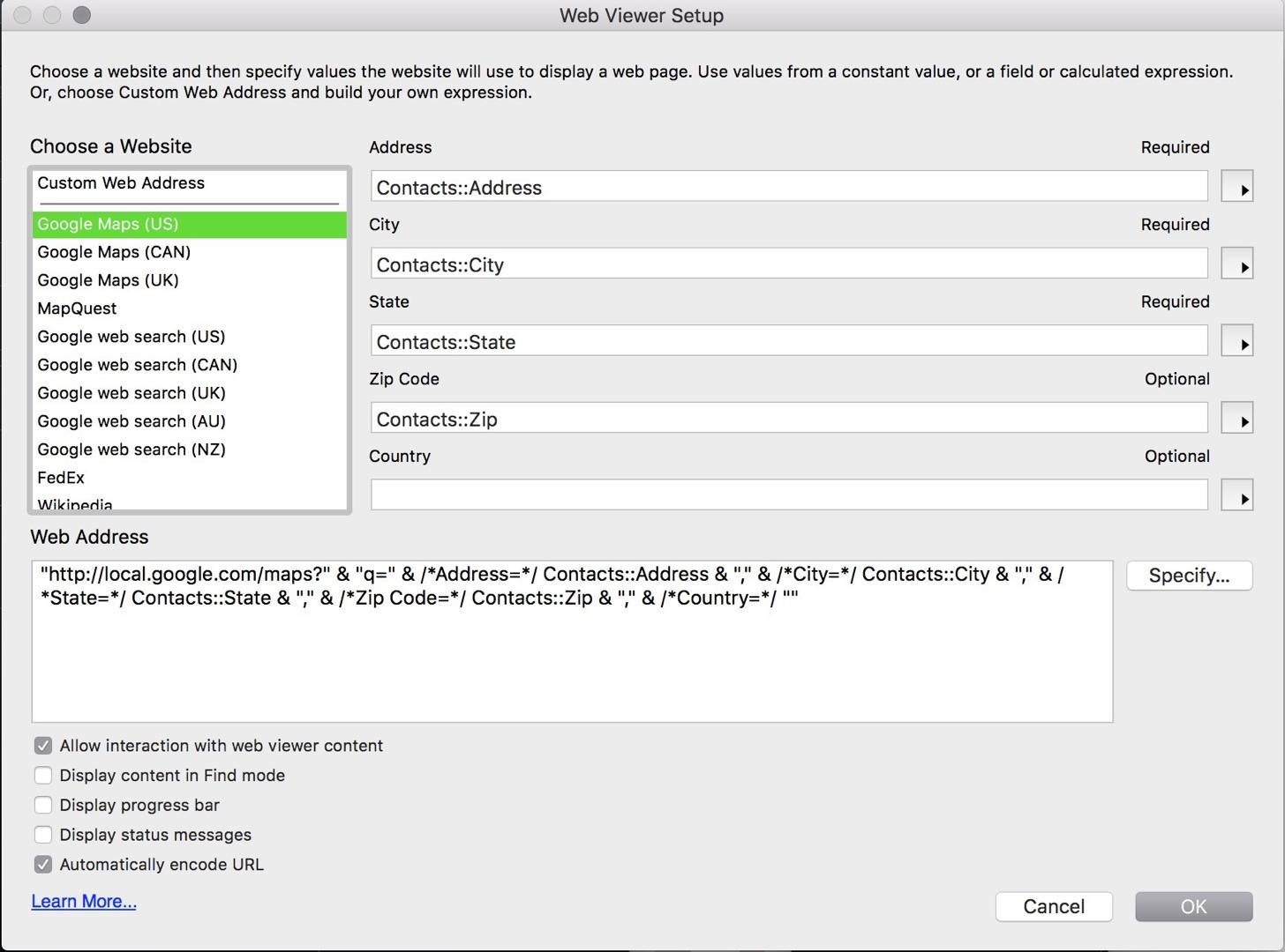 Webviewer Setup