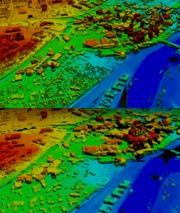 Lidar vs Stereo Derived DSM Comparison