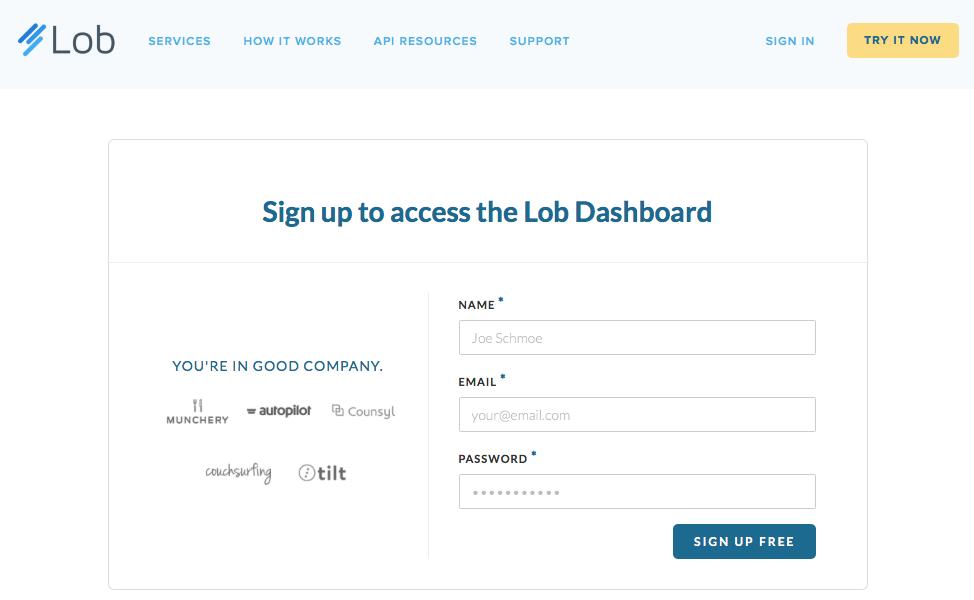 lob-sign-up