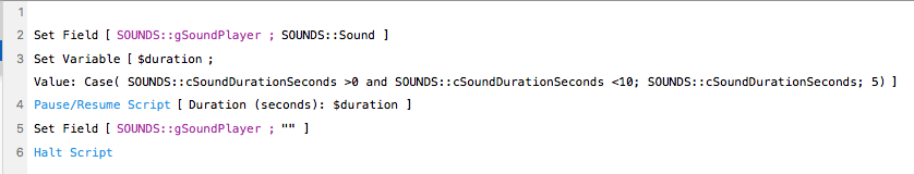 fmSoundPlayer Sound Effects on the Fly with FileMaker