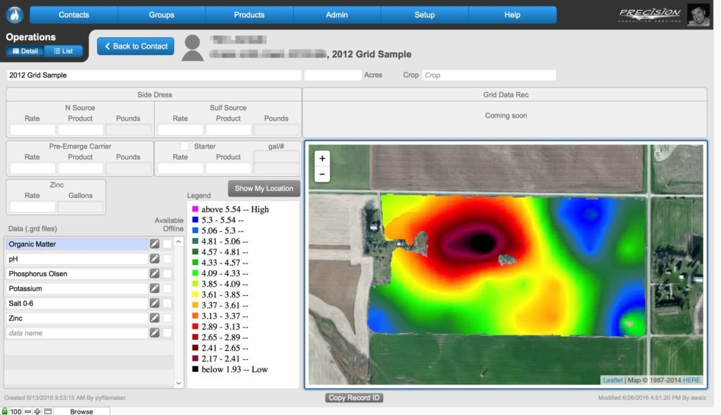 Precision Consulting Services Gets Custom GIS FileMakerGo Solution 3