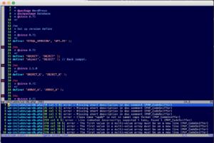 PHP CodeSniffer In Vim