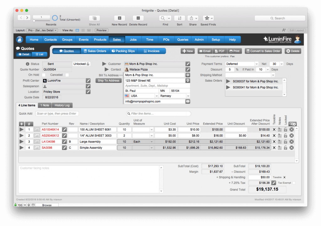 AeroFab Implements Improved FileMaker Solution Using fmIgnite