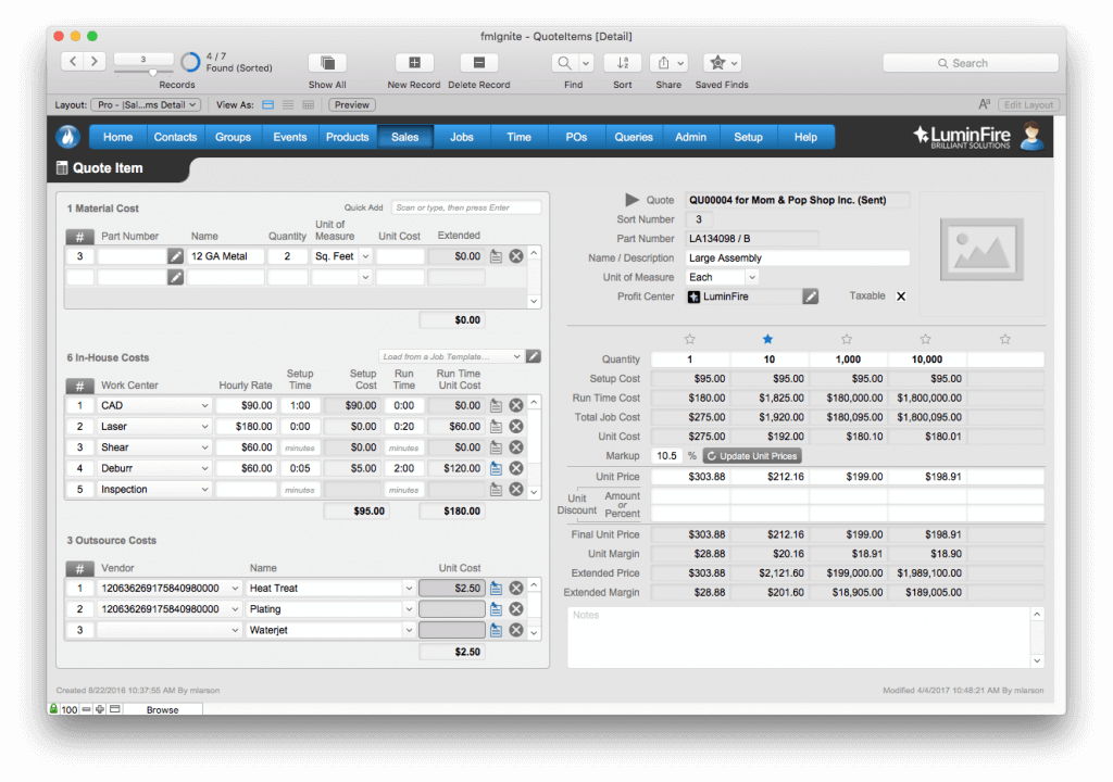 AeroFab Implements Improved FileMaker Solution Using fmIgnite 1