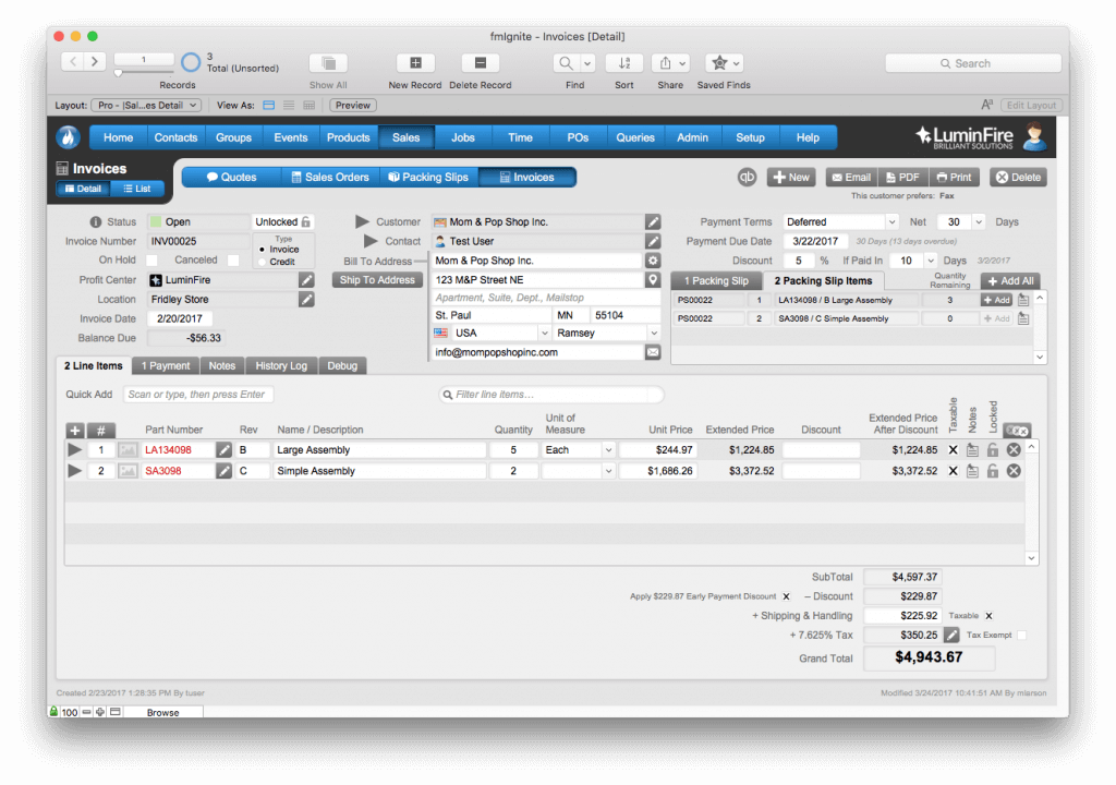 AeroFab Implements Improved FileMaker Solution Using fmIgnite 3