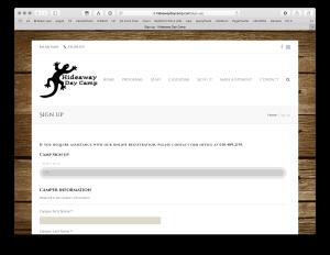 Hideaway Day Camp <mark class='searchwp-highlight'>BrilliantSync</mark> WordPress to FileMaker
