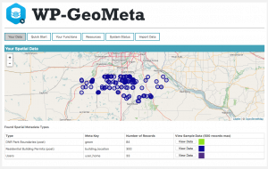 WP-GeoMeta Screenshot