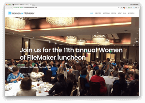 Women of FileMaker Luncheon at DevCon 2017