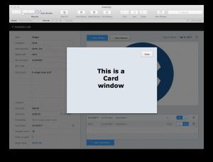 FileMaker 16 Card Windows 1