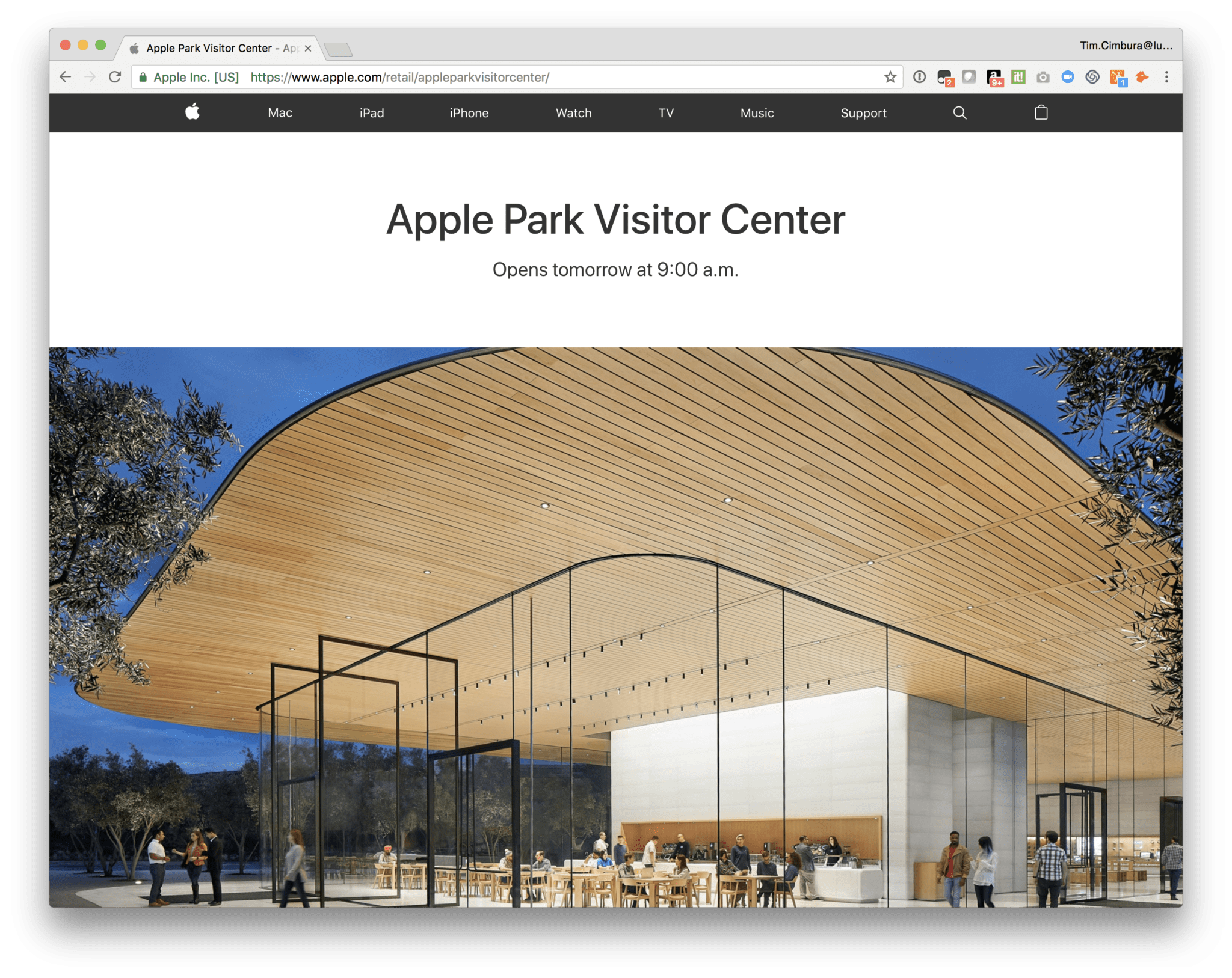 Visit to Apple and FileMaker in California 1