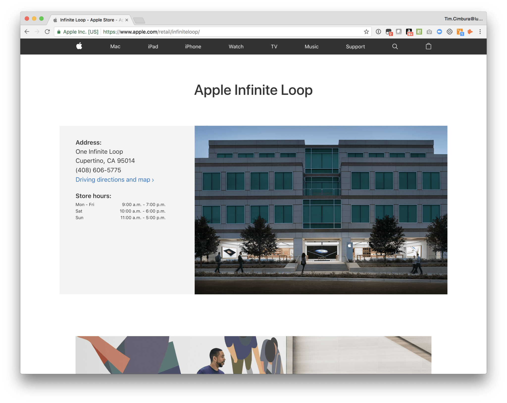 Visit to Apple and FileMaker in California 2