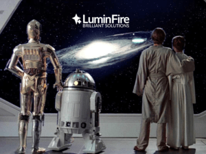 Celebrating Star Wars Day at LuminFire