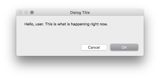 FileMaker custom dialog