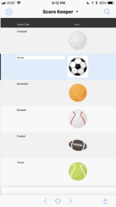 fmScoreKeeper Free Sports Score Keeper App for FileMaker