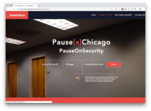 Pause[x]Chicago: PauseOnSecurity-A FileMaker Unconference