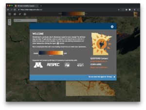 Minnesota Solar Potential App