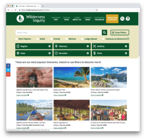 Wilderness Inquiry Uses FileMaker, WordPress, and GIS to Help Create Positive Outdoor Adventures