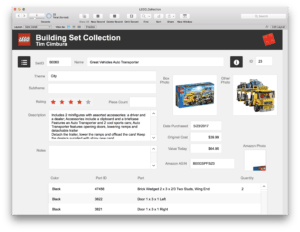 FileMaker 101 – Build a Custom App to Track LEGO Sets!