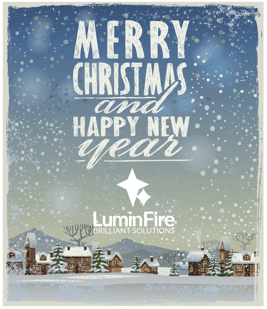 Merry Christmas and Happy New Year from LuminFire