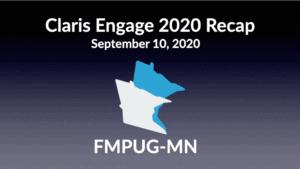 Claris Engage 2020 Recap