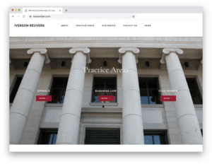 Law Firm Updates Professional Website