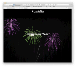 FileMaker Fireworks and Christmas Lights