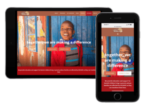 LuminFire Builds New Website and Web Portal for Non-Profit Charity